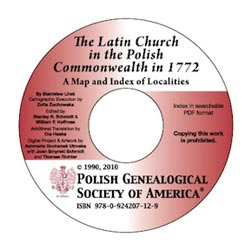 Polish Surnames 3rd Edition Vol I Amp Ii Cd Polish Genealogical Society Of America