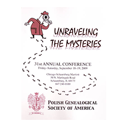 Electronic version of 2009 PGSA Conference Syllabus - Unraveling the Mysteries