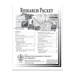 Research Packet (31 pages) - Updated June 2012 - ELECTRONIC VERSION
