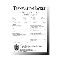 Translation Packet (25 pages) - Revised and Updated May 2010